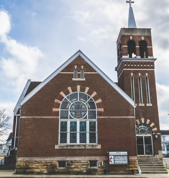 Shoals United Methodist Church in Shoals Indiana