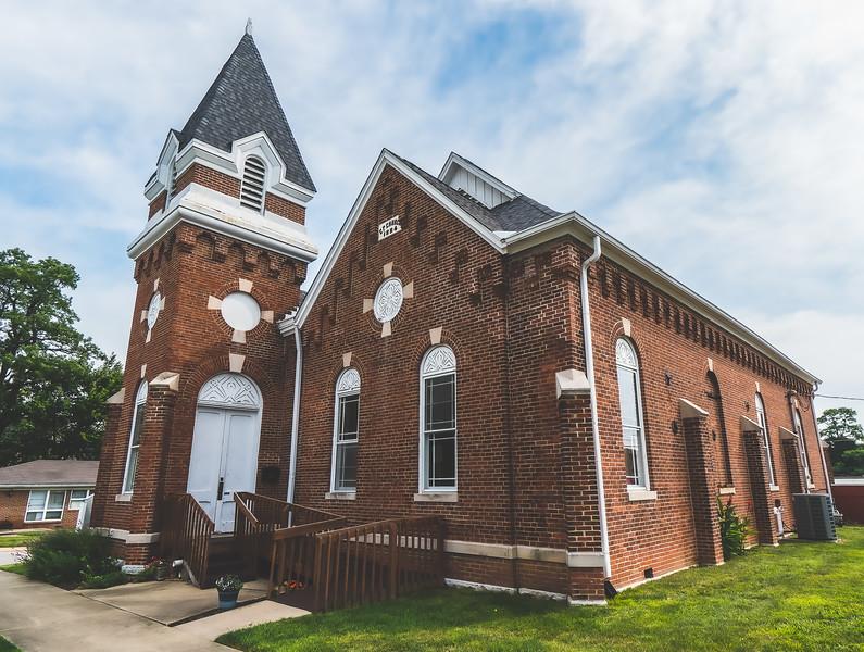 Unitarian Universalist Community Church in Danville Indiana
