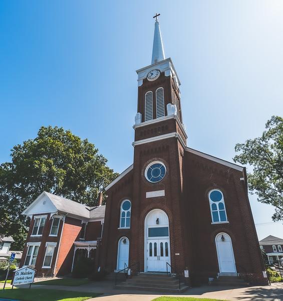 St. Matthew Catholic Church in Mount Vernon Indiana