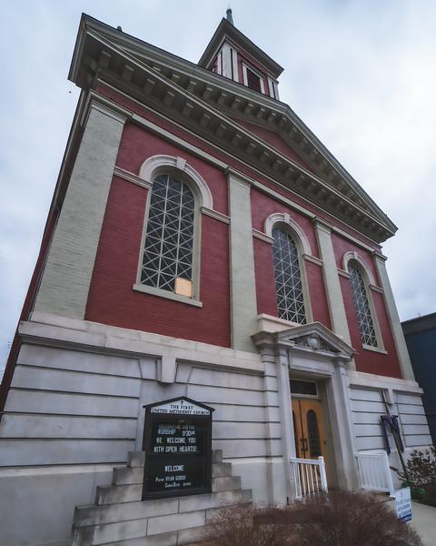 First United Methodist Church in Aurora Indiana
