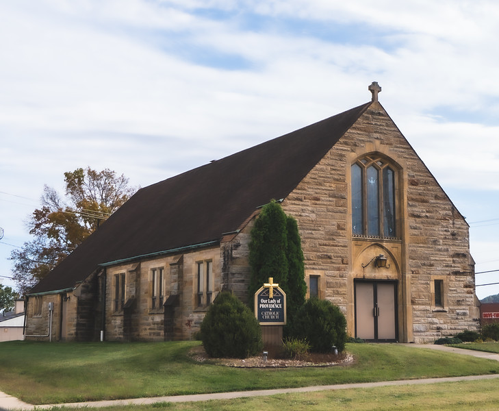 Our Lady of Providence Catholic Church in Brownstown Indiana