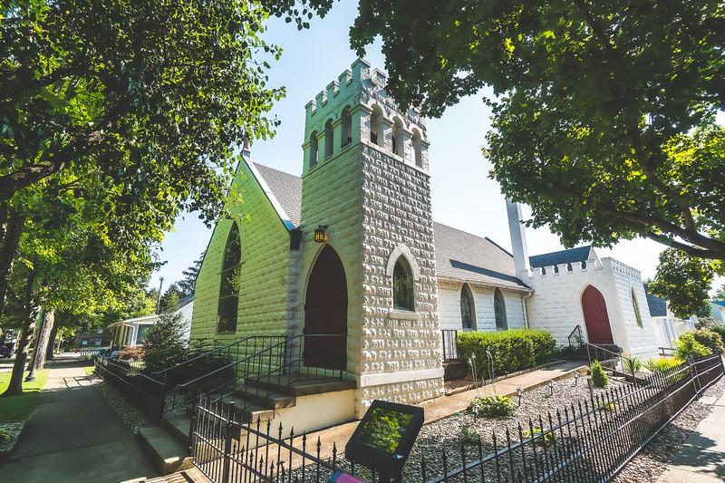 New Harmony St. Stephen's Episcopal Church in New Harmony Indiana