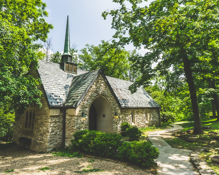 Beck Chapel on the Indiana University Campus in Bloomington Indiana