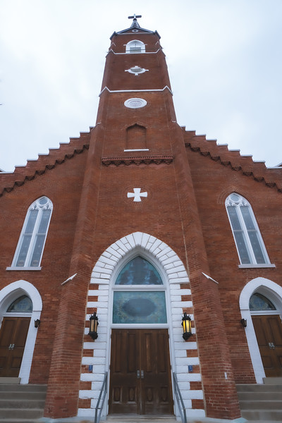 St. Mary of the Immaculate Conception in Aurora Indiana