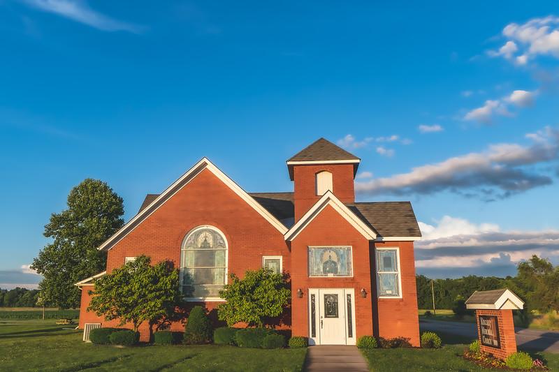 Kingsley Memorial United Methodist Church in Fairbanks Indiana