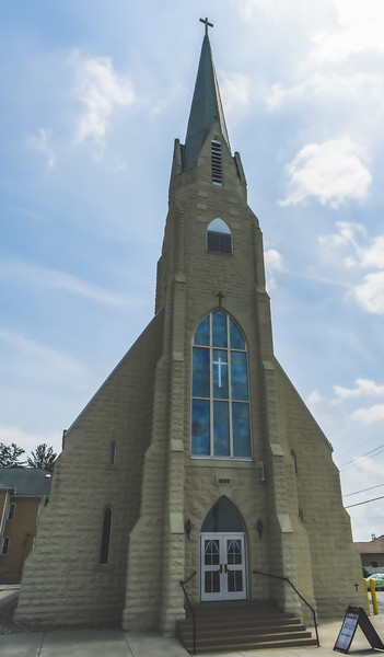 Annunciation of the Blessed Virgin Mary Catholic Church in Brazil Indiana