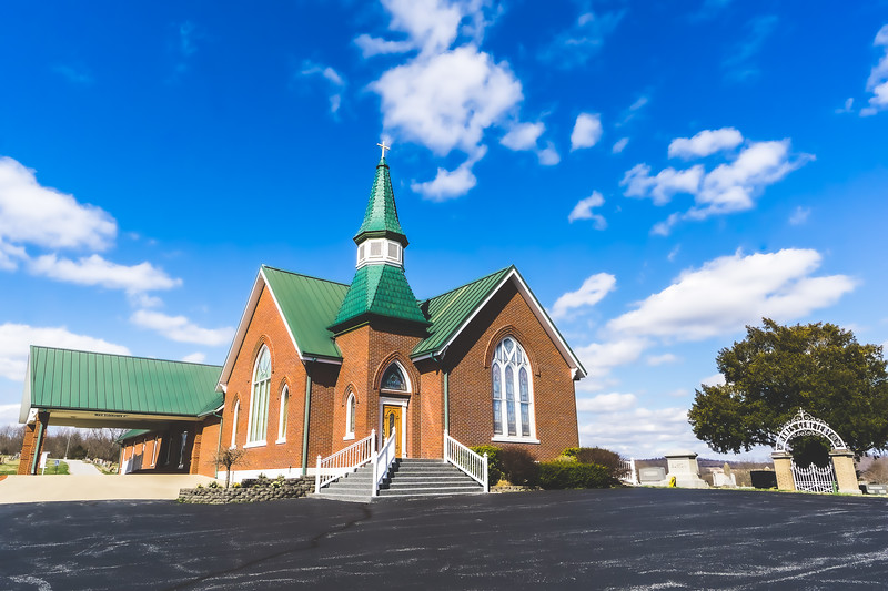 Ames Chapel United Methodist Church in Paoli Indiana