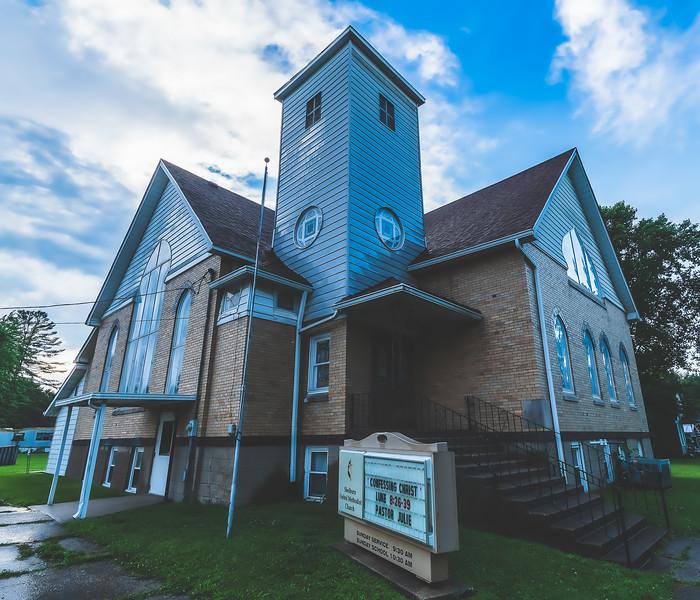 Shelburn United Methodist Church in Shelburn Indiana