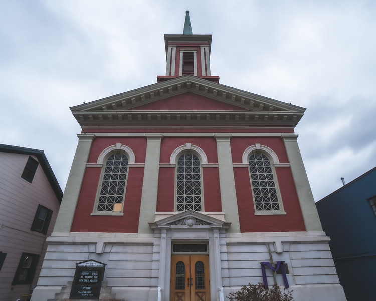 First Presbyterian Church in Aurora Indiana