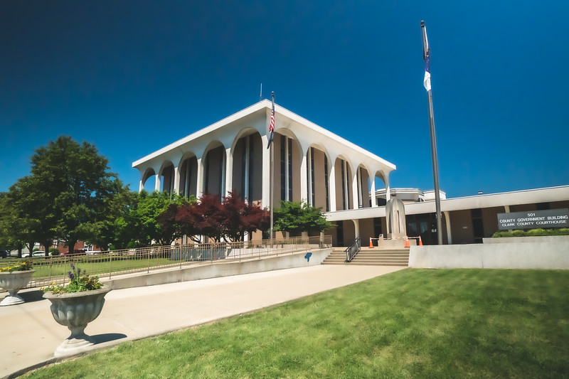 Clark County Indiana Courthouse in Jeffersonville
