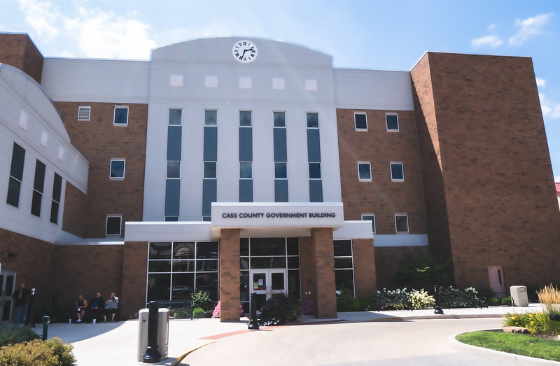 Cass County Indiana Courthouse in Logansport