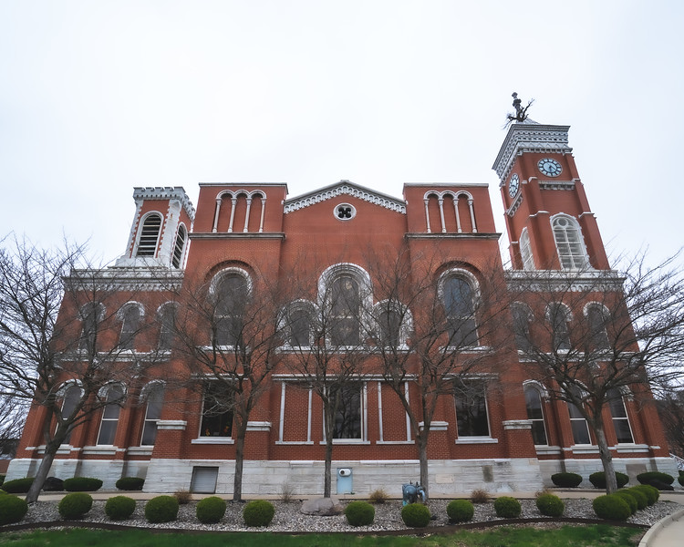 Decatur County Indiana Courthouse in Greensburg