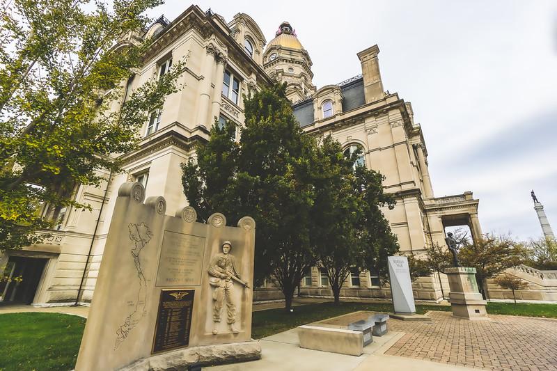 Vigo County Indiana Courthouse in Terre Haute