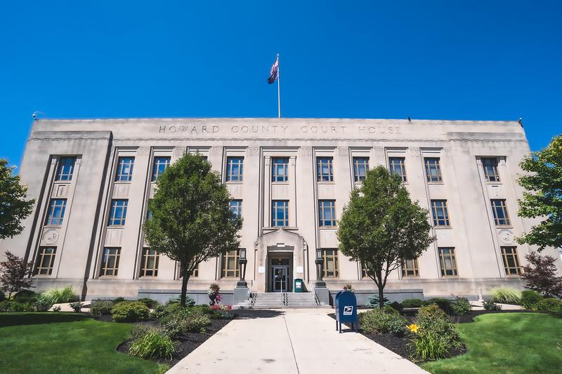 Howard County Indiana Courthouse in Kokomo
