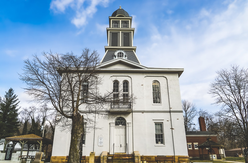 Martin County Indiana Courthouse in Shoals