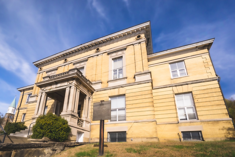 Perry County Indiana Courthouse (Old) in Cannelton