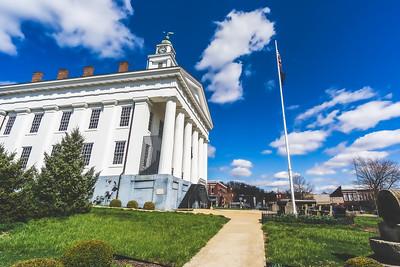 Orange County Indiana Courthouse