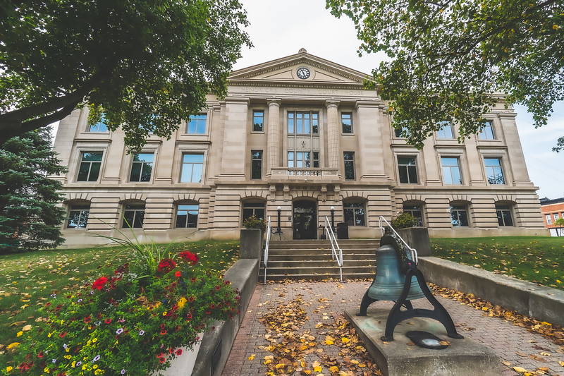 Hendricks County Indiana Courthouse in Danville