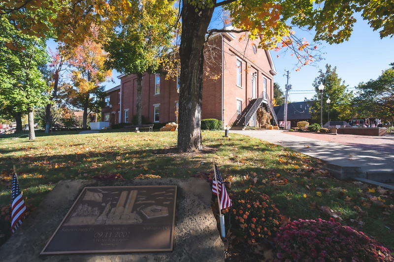 Brown County Indiana Courthouse in Nashville
