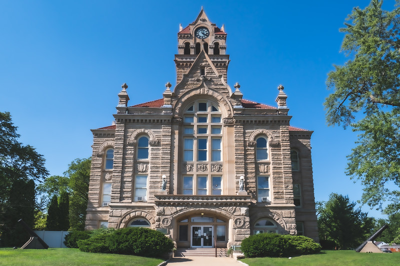 Starke County Indiana Courthouse in Knox