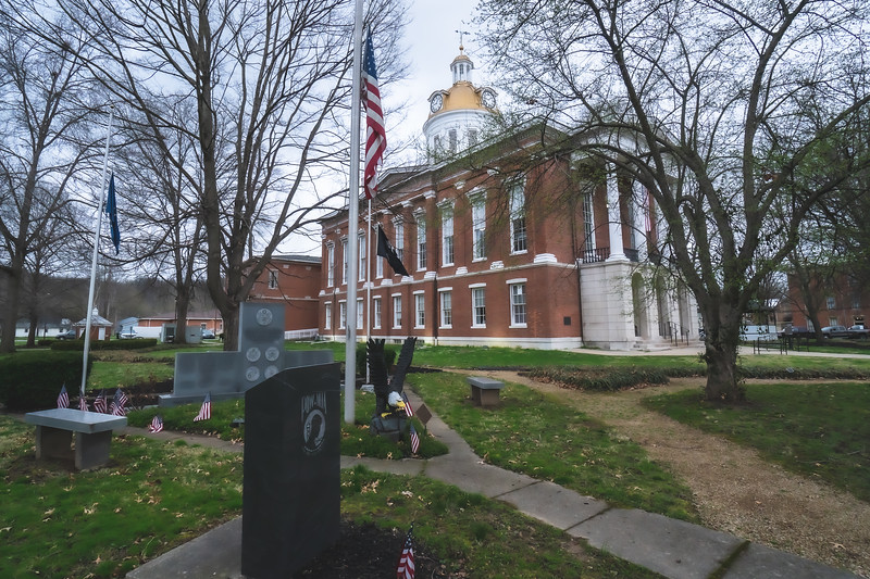 Switzerland County Indiana Courthouse in Vevay