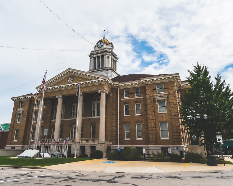 Dubois County Indiana Courthouse in Jasper