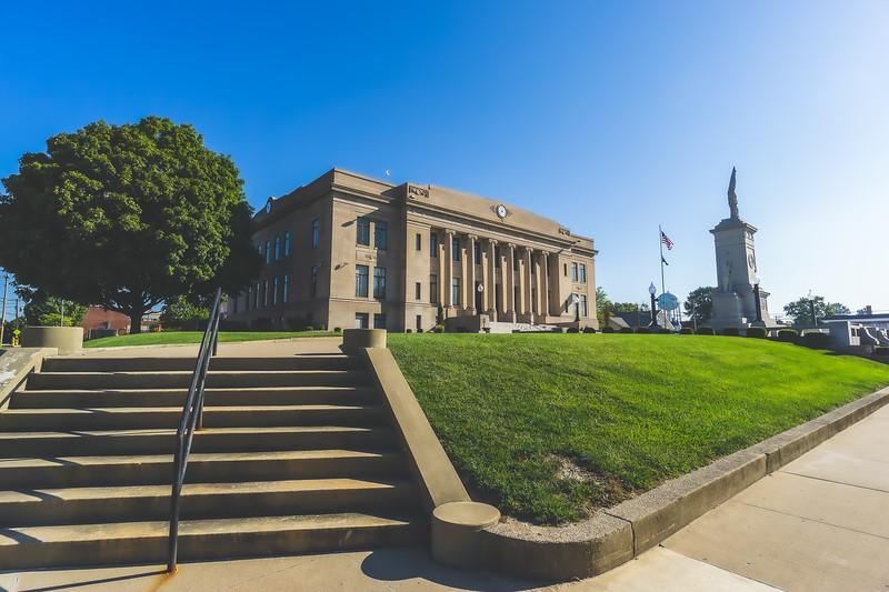 Daviess County Indiana Courthouse in Washington