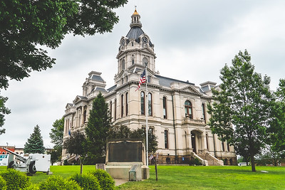 Parke County Indiana Courthouse