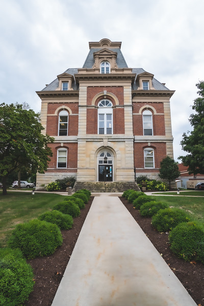 Benton County Indiana Courthouse in Fowler