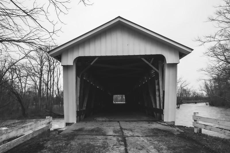 Darlington Covered Bridge in Montgomery County Indiana