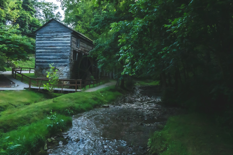 Boone's Mill in Mauckport Indiana