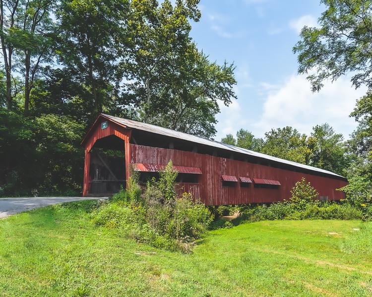 Dunbar Covered Bridge in Putnam County Indiana