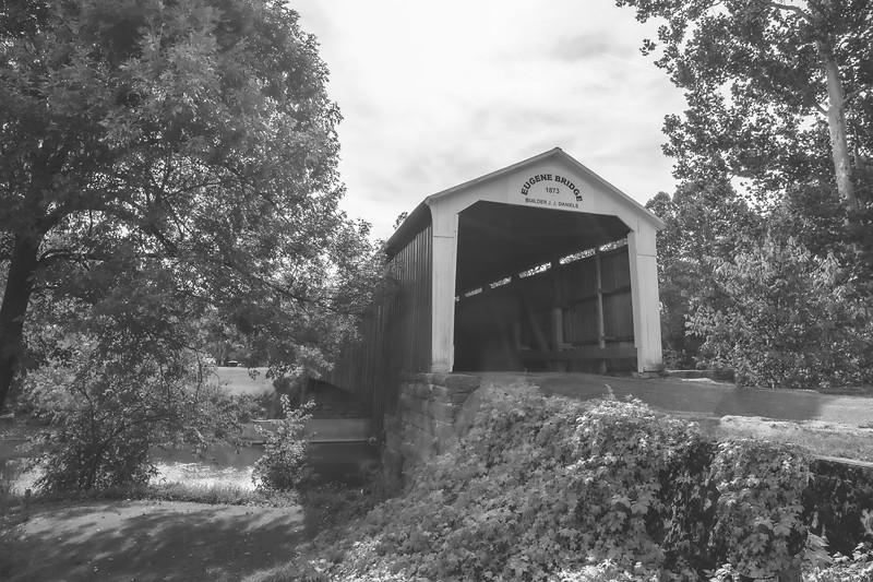 Eugene Covered Bridge in Vermillion County Indiana