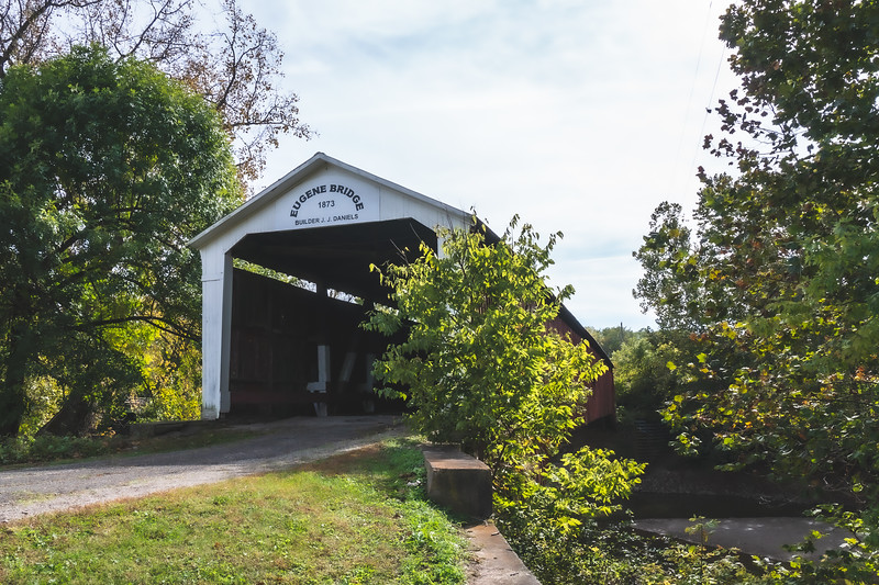 Eugene Covered Bridge in Vermillion County Indiana