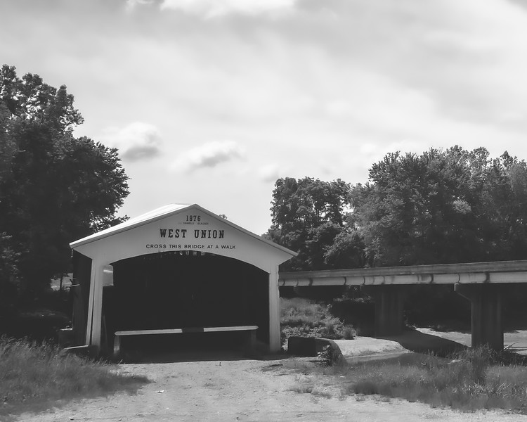 West Union Covered Bridge in Parke County Indiana