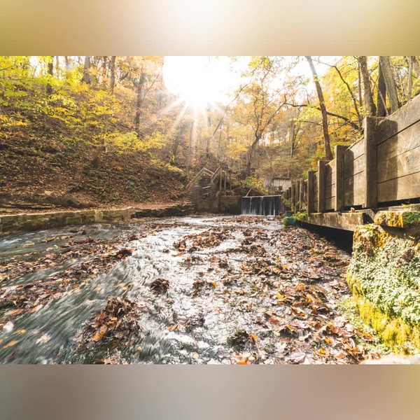 2019 Indiana: Spring Mill State Park in Mitchell Photo Slideshow