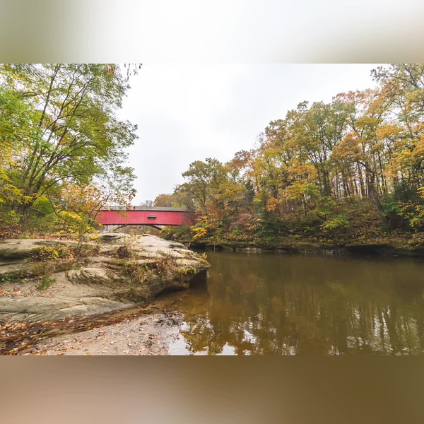 2019 Indiana: Indiana Bridges and Mills Photo Slideshow