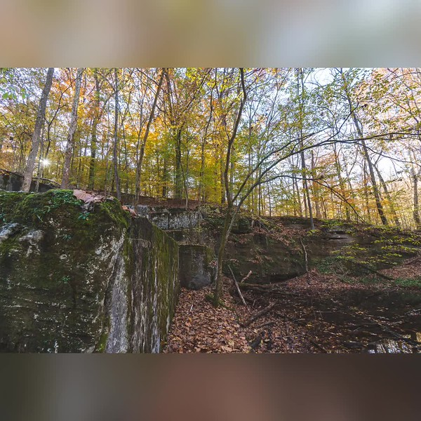 2019 Indiana: McCormick's Creek State Park in Spencer Photo Slideshow