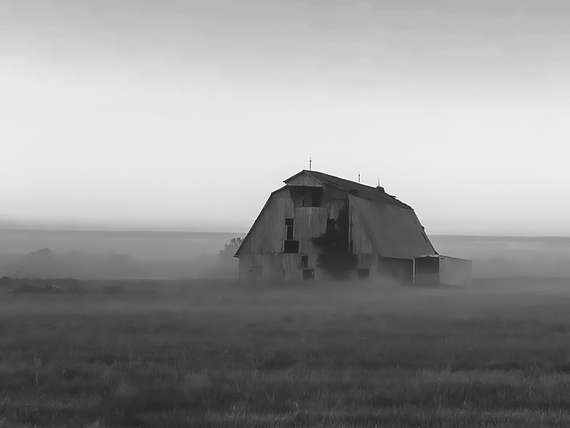 Old Barn in Greene County Indiana
