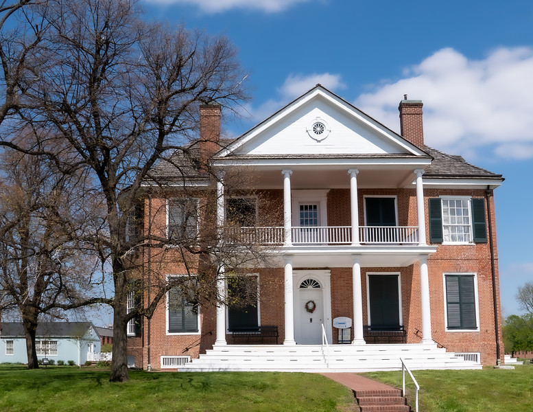 William Henry Harrison's Home in Vincennes Indiana