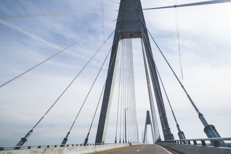 The William H. Natcher Bridge which spans over the Ohio River to connect Indiana and Kentucky