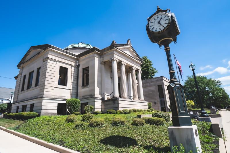 Wabash Carnegie Public Library in Wabash Indiana