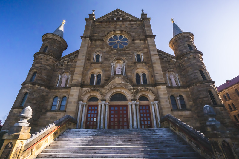 St. Meinrad Archabbey Church in St. Meinrad Indiana