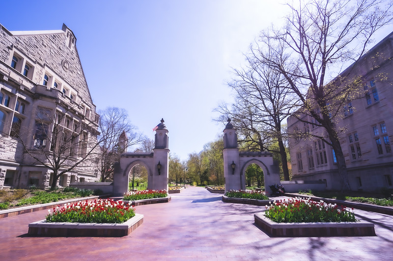 Indiana University Sample Gates in Bloomington Indiana