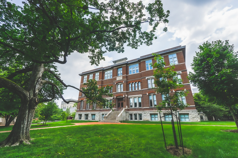 Indiana University Campus in Bloomington Indiana