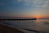 Summer sunset at Michigan City beach. Michigan City, IN<br /> <br /> IN-100531-0073