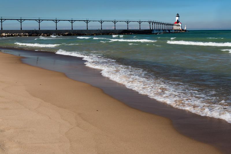 Lighthouse and Waves I