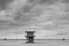 Lifeguard station in Washington Park beach. Michigan City, IN<br /> <br /> IN-091025-0006-2