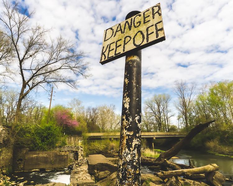 Markle Mill Park in Vigo County Indiana