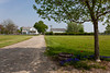 The historic farmstead at the Amish Acres cultural village in Nappanee, Indiana, USA.